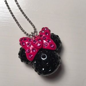 Other - Stoned Minnie Mouse  necklace